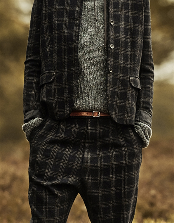 06 WOOL WASHED CHECK + MIX AW20