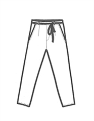 190151 low crotch trousers